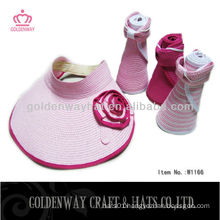 2015 fashion women sun visor hats