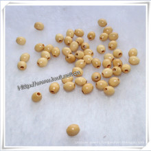 Square, Oval, Round and Painted Wood Beads, Rosary Beads (IO-wa025)