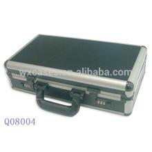 caja de arma escopeta de aluminio fuerte con espuma interior de fábrica de China