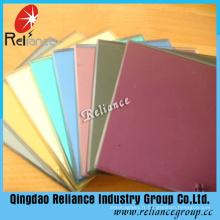 Verre décoratif coloré / verre de peinture / verre de support