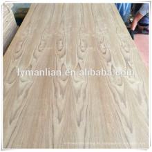 hoja de madera contrachapada de teca / precio más bajo madera contrachapada / fábrica de madera contrachapada