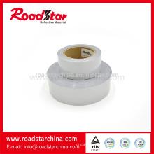 Polyester und Spandex Material doppelt Seite reflektierende elastischer Stoff