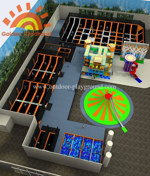 Custom Comprehensive Trampoline Park
