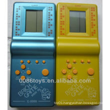 Oil-painting Color Handheld Brick Game E9999-1