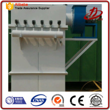 Industrial air filtration dust collector with pulse cleaning