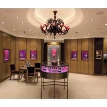 Elegante loja de varejo de moda Jewellry exibe Showcase