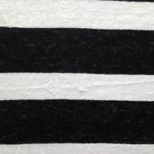 Tissu en lin en lin tricoté (QF14-1543)