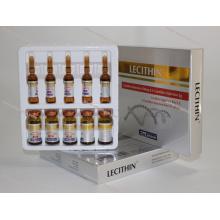 Injection de lécithine pour le corps amaigrissant