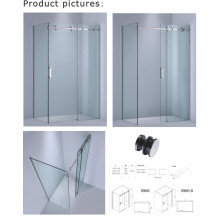 8mm/10mm Glass Thickness Rectangle Bathtub Screen/Sliding Shower Enclosure (Kw05)
