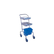 Medical Stainless Steel Instrument Trolley (THR-MT030)