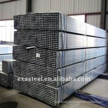 Schienenzaun ERW verzinkter quadratischer Stahlrohr / GP Rohr