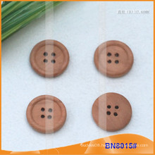 Natural Wooden Buttons for Garment BN8015
