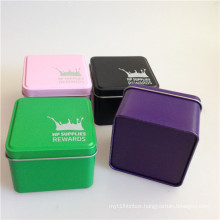Naked Makeup Tin Box for Package Tin Contanier