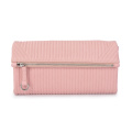 Vertikale Stichstreifen Plain Fashion Damen Clutch Bag