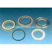 Junta de anillo oval de metal 300lbs Junta