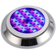 LED-Pool Licht wasserdicht Edelstahl LED Unterwasserlicht RGB Farbwechsel führte Unterwasser LED Licht