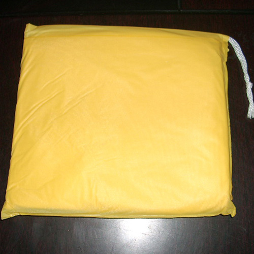 pvc rain poncho with pvc material bag
