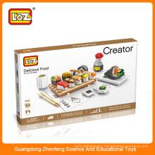 LOZ funny block brick toy plastic educational connecting blocks for kids