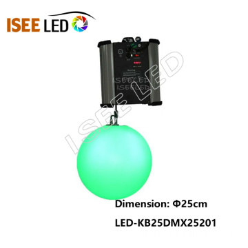 DMX Kinetic LED RGB Bille diamètre 25cm