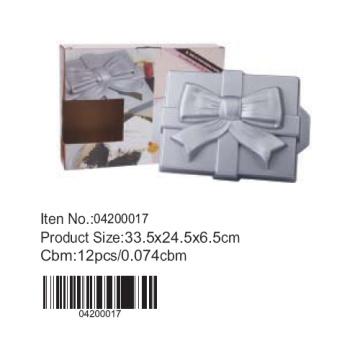 Подарочные коробки формы алюминия Пан торт