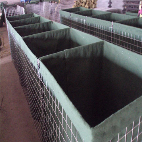 Concrete forms hesco barriers