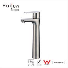 Haijun China Fornecedor cUpc 304 Stainless Steel Bathroom Sink Basin Faucets
