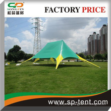 High Quality Green Star Shaped Tent outdoor Luxury Tent