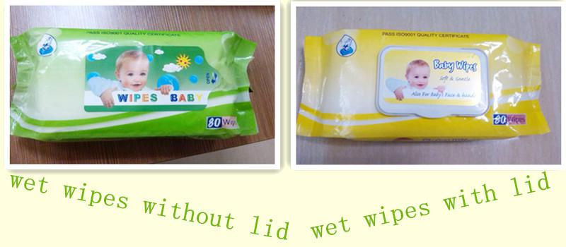 wet wipes package