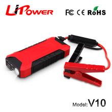 Mini car jump starter power bank 12000mAh portable car jump starter with Micro USB inout