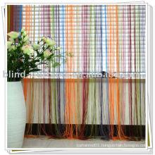 Multicolor string curtain 2015