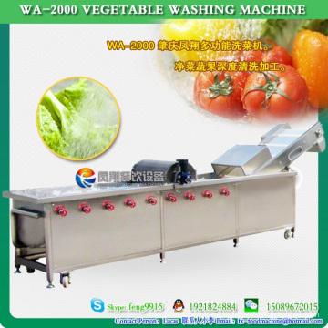 Fabricante de vegetales y frutas lavadora