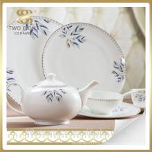 Porcelaine hôtel vaisselle, fine porcelaine porcelaine céramique hôtel porcelaine vaisselle
