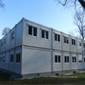 Modular Prefabricated Mobile House Building for Various Purposes