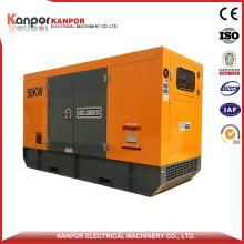 50kVA UK Brand Power Generator with Soundproof Canopy