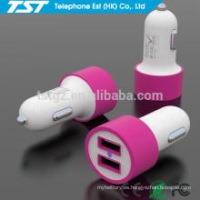 Cargador popular popular del coche del USB de encargo de Corlorful para Samsung