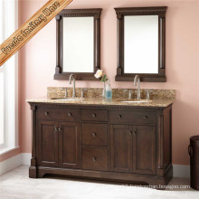 Fed-6043 High Quality Bathroom Vanity Solid Wood Bathroom Cabinet