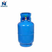 Mit ventil 25LBS dominica stahl lpg gas propan zylinder flasche