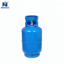 Botella de gas de 25 lb. lpg con válvula para Dominica