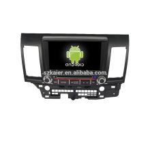 Quad core! Dvd de voiture avec lien miroir / DVR / TPMS / OBD2 pour 8 pouces écran tactile quad core 4.4 système Android MITSUBISHI LANCER
