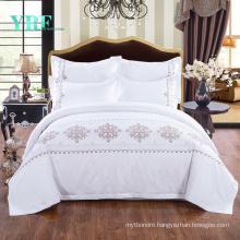 Hotel Supplys Modern Design Deep Pocket Hotel Bedding Comfortable for Single Bed
