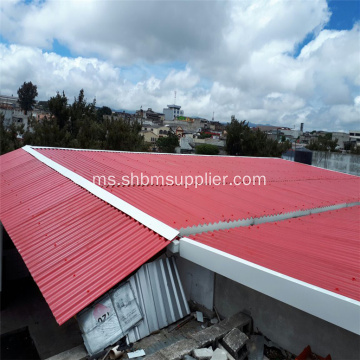 No-Asbestos UV-Blocking Iron Crown Fireproof MgO Roof Tiles