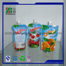Spouted Packaging Pouches for Drinking