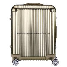 Aluminum Magnesium Alloy Hard Luggage Case (Ycft-3682)