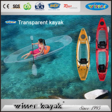 100% Transparente Kayak Assentos Único / Duplo