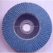 Une bonne performance utilise un disque à clapet abrasif