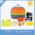 HF-4003 Hot Sale 19 PCS Kit de Emergência Do Carro Ao Ar Livre Ferramenta de Sobrevivência de Emergência Ferramentas de Segurança Kits de Reparação de Automóveis (certificados do CE)