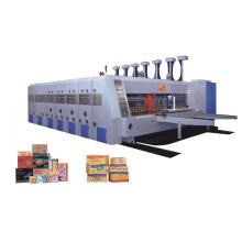 Karton Druck und Schlitzen Stanzen Schneiden mit Staker Maschine (GYMK-1600 * 2800MM)