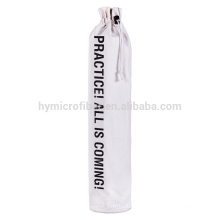 Outdoor portable yoga mat carry bag with cotton fabric