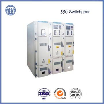 550 Tablero de distribución revestido de metal aislante omnidireccional modular