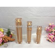 square cosmetics lotion bottle